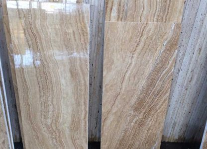 Honey travertine